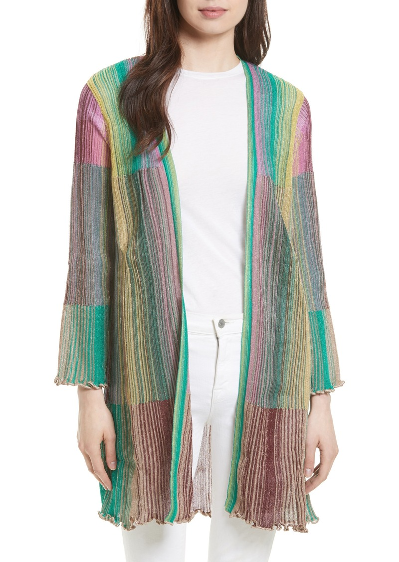 M Missoni M Missoni Plissé Knit Cardigan | Sweaters - Shop It To Me