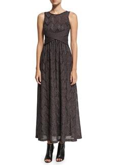 M Missoni Sleeveless Lurex® Jersey Maxi Dress
