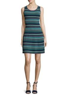 M Missoni Sleeveless Micro-Triangle Dress