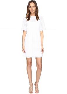 M Missoni Solid Zigzag Dress