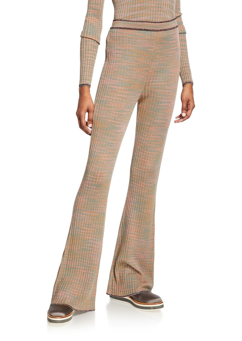 M Missoni Space-Dye Beauty Flare Pants