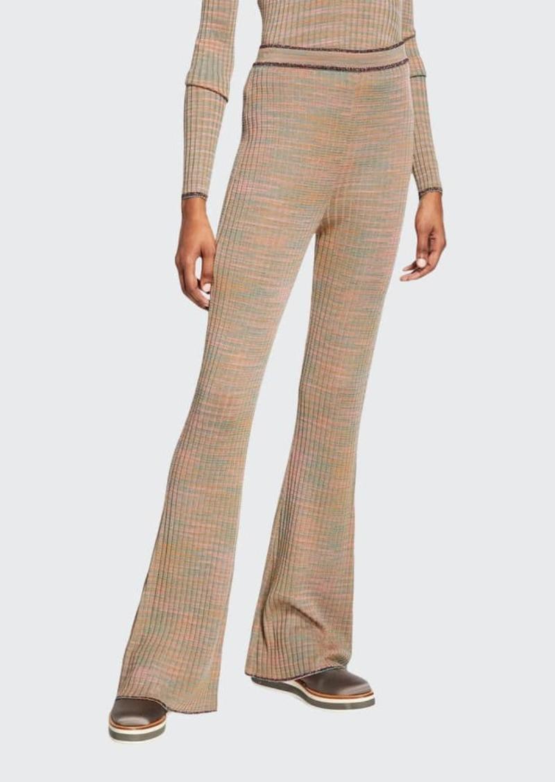 M Missoni Space-Dye Beauty Flare Pants