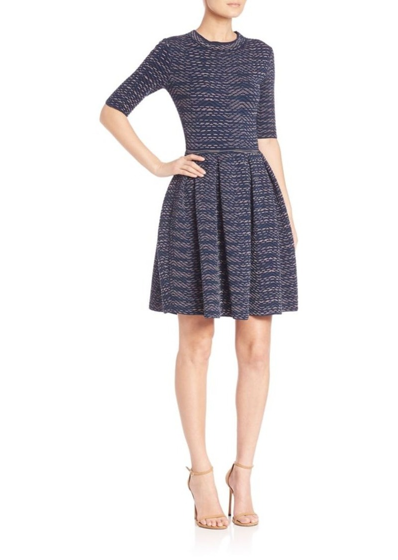 M Missoni Spacedye Fit-and-Flare Dress