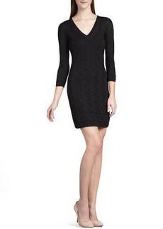 M Missoni BLACK ZIG ZAG DRESS