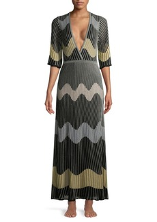 M Missoni Wave Kit Maxi Dress