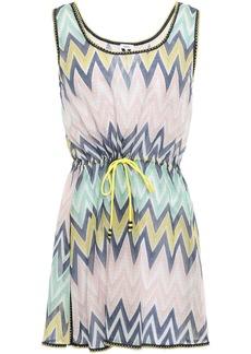 M Missoni Woman Cotton Mini Dress Blush