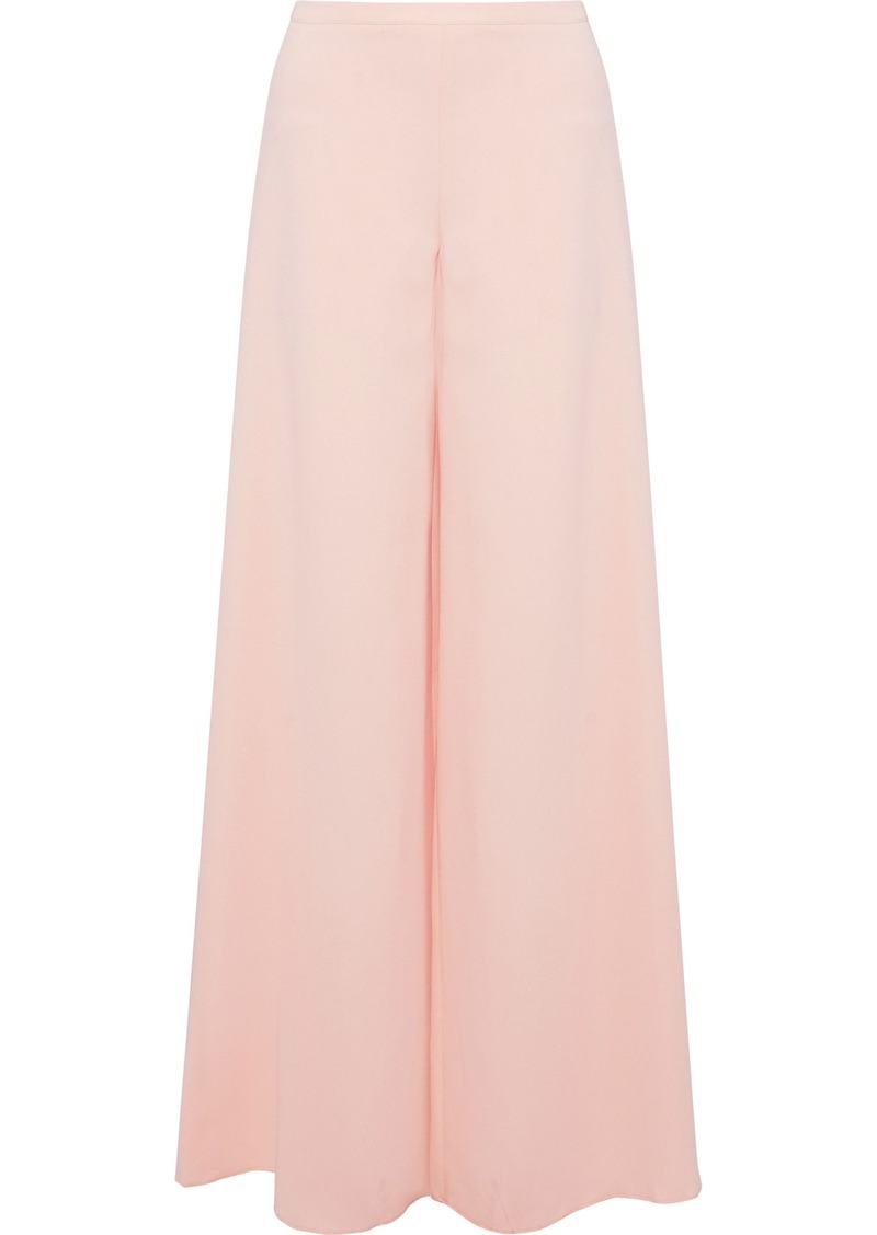 M Missoni Woman Crepe Wide-leg Pants Pastel Pink