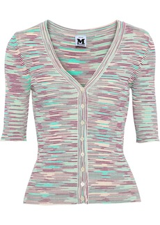 M Missoni Woman Crochet-knit Cardigan Light Green