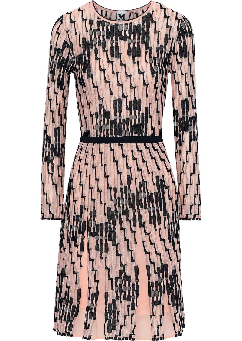 M Missoni Woman Crochet-knit Dress Baby Pink