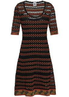 M Missoni Woman Crochet-knit Dress Black