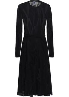 M Missoni Woman Crochet-knit Dress Black