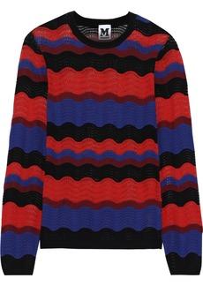 M Missoni Woman Crochet-knit Sweater Red