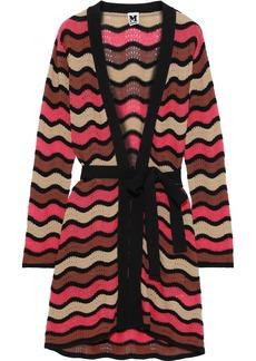 M Missoni Woman Crocheted Cotton-blend Cardigan Multicolor