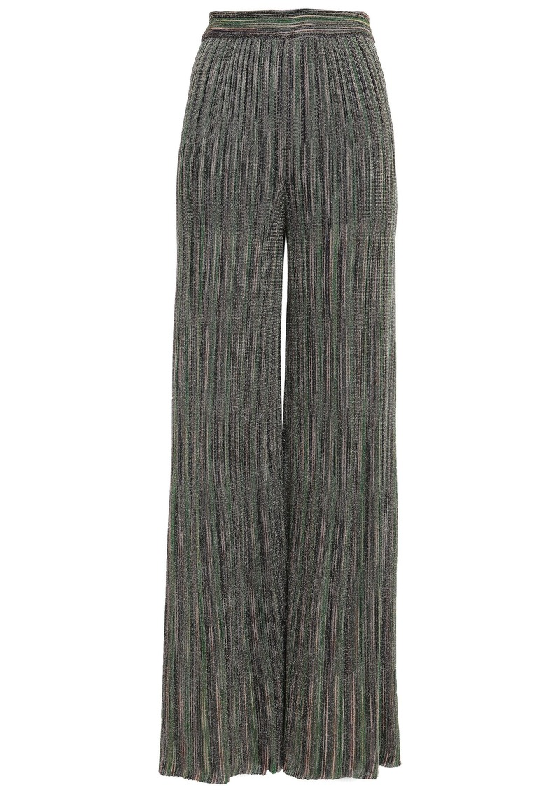 M Missoni Woman Knee Length Skirt Army Green