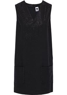 M Missoni Woman Metallic Stretch-knit Mini Dress Black