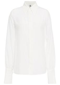 M Missoni Woman Silk Crepe De Chine Shirt White
