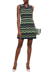 4c143a2b5dde03 On Sale today! M Missoni M Missoni Woman Striped Crochet-knit Mini ...
