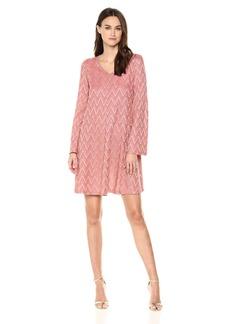 M Missoni Women's Zig Zag Lurex Jersey Dress