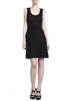 M Missoni Zigzag-Knit A-line Skirt
