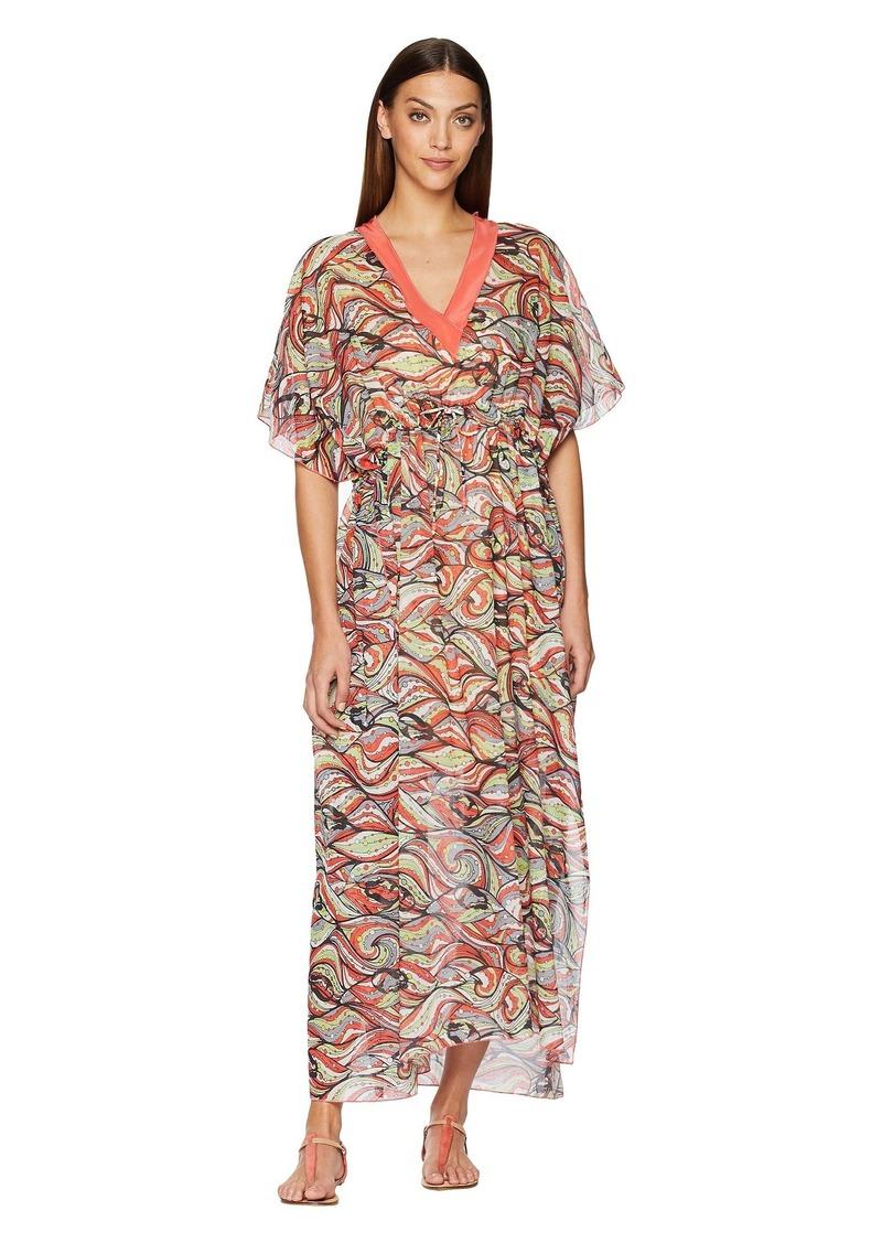 02d9a4e9e04 On Sale today! M Missoni Mermaid Print Caftan Long Dress
