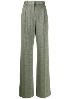M Missoni metallic high waisted trousers