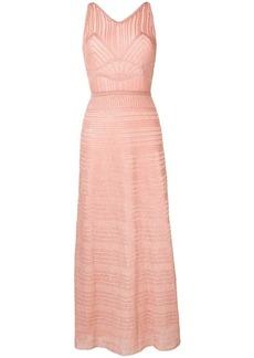M Missoni metallic-knit maxi dress