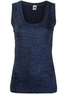M Missoni metallic scoop neck vest