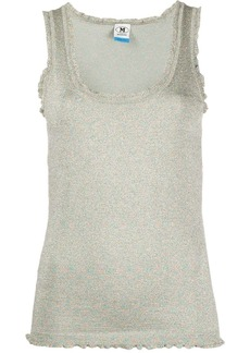 M Missoni metallic shimmer tank top