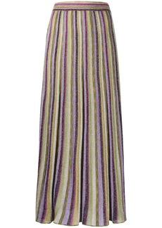 M Missoni metallic striped skirt