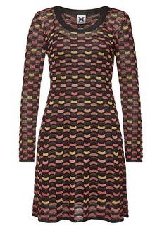 M Missoni Mini Dress with Metallic Thread