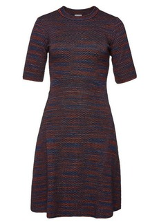 M Missoni Mini Dress with Virgin Wool