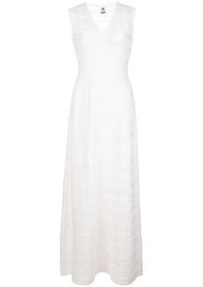 M Missoni perforated maxi dress