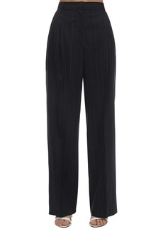 M Missoni Pinstriped Crepe Pants