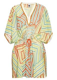 M Missoni Printed Silk Tunic