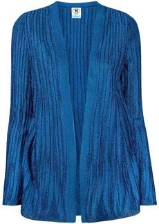 M Missoni metallic-threading ribbed cardigan