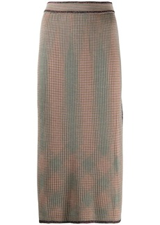 M Missoni ribbed-knit dress