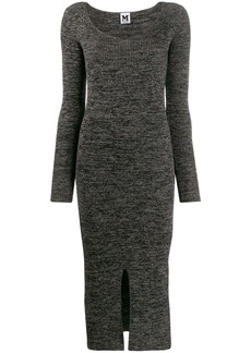M Missoni ribbed knit long dress