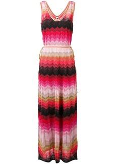 M Missoni scoop neck maxi dress