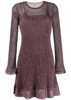 M Missoni short knitted dress
