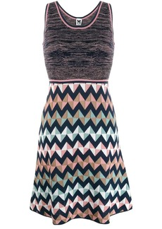 M Missoni short zigzag dress