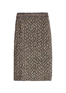 M Missoni Skirt with Metallic Thread