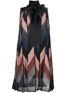 M Missoni sleeveless lurex dress