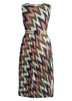 M Missoni Sleeveless Lurex Plissé Dress