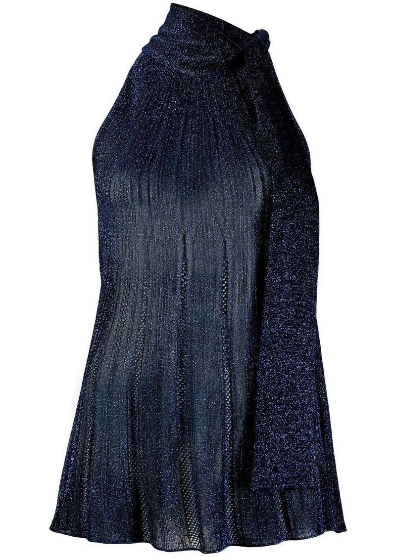 M Missoni sleeveless metallic top