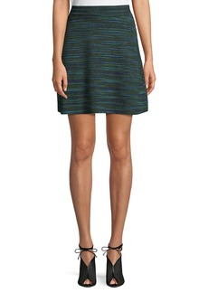 M Missoni Space-Dyed Wool-Blend Skirt