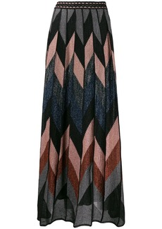 M Missoni sparkly knit maxi skirt