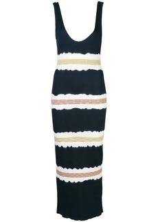 M Missoni striped jersey dress