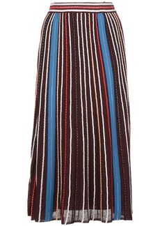 M Missoni striped midi skirt