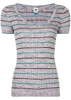M Missoni striped ribbed T-shirt