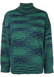 M Missoni striped roll neck sweater